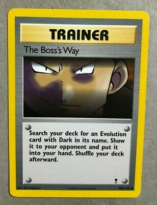 The Boss's Way 105/110 Legendary Collection - Uncommon Pokemon Card - NM