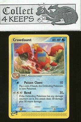 Pokemon TCG EX Dragon Crawdaunt 13/97 (Rare Nrmt)