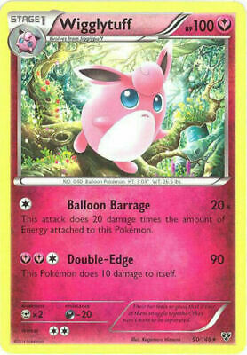 Wigglytuff 90/146 XY Base Set Rare Near Mint NM Pokemon