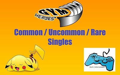 Pokemon WOTC Gym Heroes Card Singles - Common / Uncommon / Rare TCG Unlimited