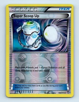 Super Scoop Up 100/111 Reverse Holo XY Furious Fists Pokemon Card ~ Near Mint