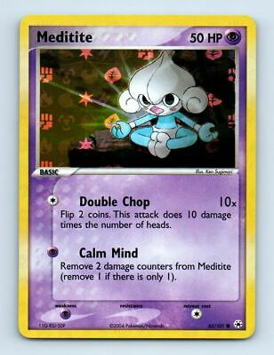 Meditite 65/101 Holo Ex Hidden Legends Pokemon Card ~ Near Mint