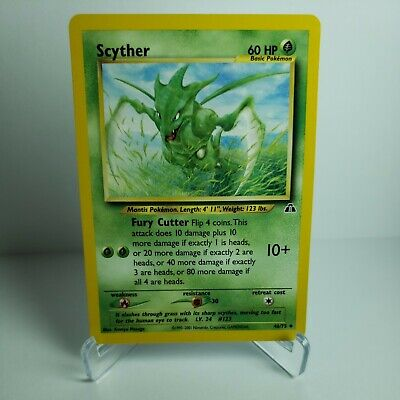 Scyther 46/75 - HP - Neo Discovery Pokemon Card