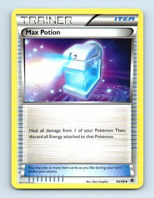 Max Potion 94/98 Non-Holo Emerging Powers Pokemon Card ~ LP