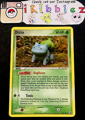 Ditto 36/113 NM Vintage Delta Species Pokemon Card. Free Tracked Shipping!