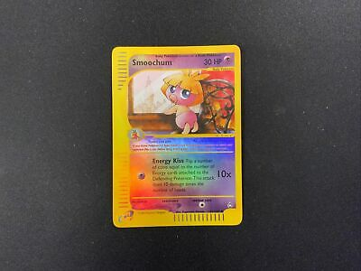 Pokemon Card Smoochum Reverse Holo Aquapolis 61/147