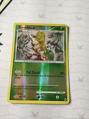 Pokemon Card Treecko LV.14 Arceus 78/99 Near Mint Reverse Holo Common TCG!