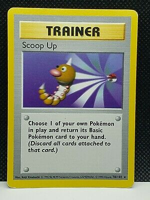 Pokemon Scoop Up Base Set Shadowless 78/102 Played Condition
