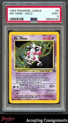 1999 Pokemon Jungle #6 Mr. Mime HOLO PSA 9 MINT