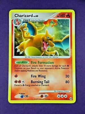 🔥FOIL CHARIZARD🔥 | Rare Holo | DP Platinum Arceus | Pokemon 1/99 | Dragon 📈
