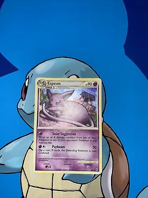 Pokemon Card Espeon HGSS Call of Legends 4/95 Moderate-heavy Play (scratches)