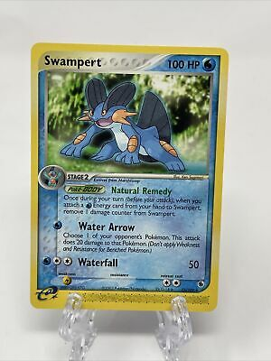 SWAMPERT 23/109 Non-Holo Rare EX Ruby and Sapphire Pokemon Card NM / Mint !