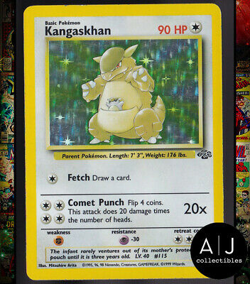 Kangaskhan 5/64 Jungle Set Holo WOTC Pokemon Card TCG EX