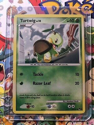 Turtwig Holo Promo Pokemon Card POP Series 6 17/17 MP/LP