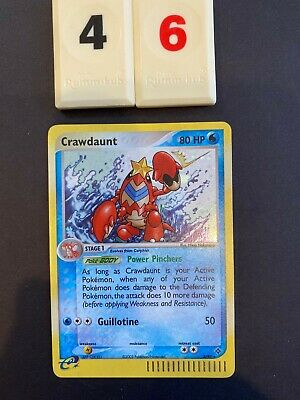 Pokemon Dragon EX  Crawdaunt Holo 3/97