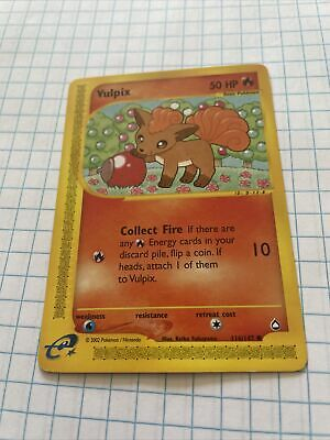 Pokemon Aquapolis Vulpix Common (116/147)