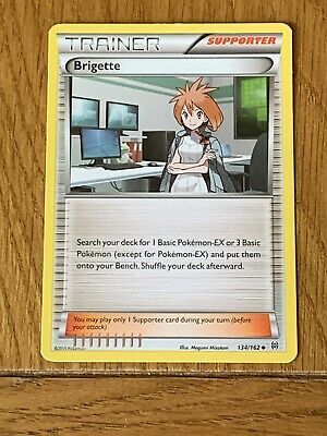 Pokemon Trading Cards BREAKthrough Trainer Brigette