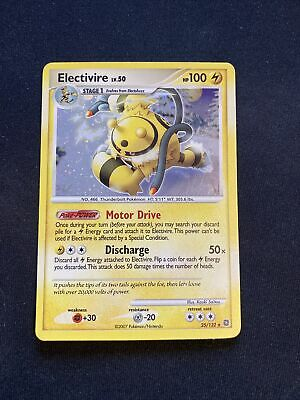 Pokemon Electivire 25/132 Secret Wonders Diamond & Pearl Holo Rare NM