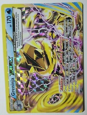 Greninja-Break - 41/122 - Rare Break Pokemon XY - Breakpoint