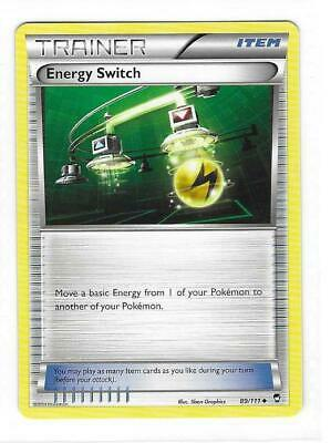 Pokemon --- ENERGY SWITCH --- XY Furious Fists! Uncommon Trainer! MINT! 89/111