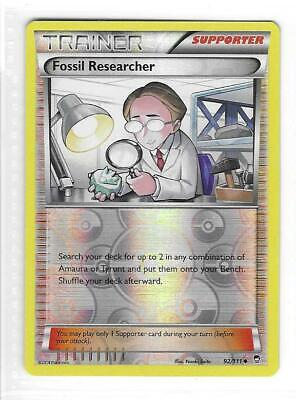 Pokemon --- FOSSIL RESEARCHER --- XY Furious Fists! REVERSE HOLO! MINT! 92/111