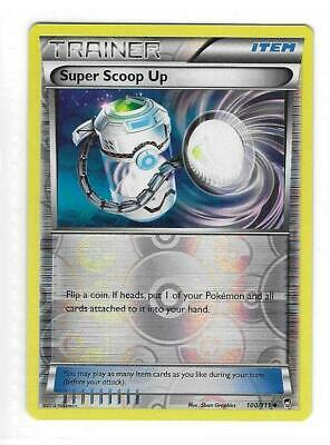 Pokemon --- SUPER SCOOP UP --- XY Furious Fists! REVERSE HOLO! MINT! 100/111