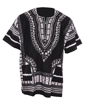 Одежда Африки Black Traditional African Print