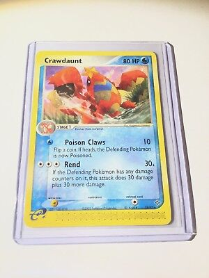CRAWDAUNT -  Ex Dragon Set - 13/97 - Non-Holo Rare - Pokemon Card - NM