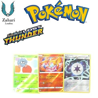 Pokemon Sun & Moon Lost Thunder Common Uncommon Single Cards!