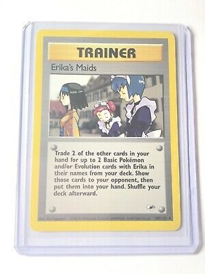 ERIKA'S MAIDS - Gym Heroes Set - 109/132 - Uncommon - Pokemon Card - NM