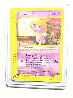 SMOOCHUM - 61/147 - Aquapolis - Uncommon - Pokemon Card - NM