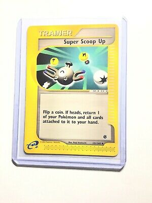 SUPER SCOOP UP - 151/165 - Expedition Base Set - Trainer - Pokemon Card - NM