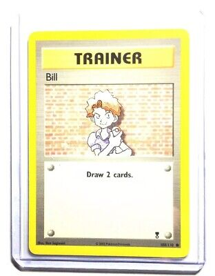 BILL - 108/110 - Legendary Collection - Trainer - Pokemon Card - NM
