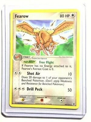 FEAROW - 24/112 - FireRed & LeafGreen - Rare - Pokemon Card - NM