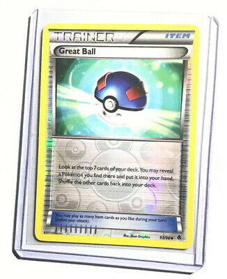 GREAT BALL - 93/98 - Emerging Powers - Reverse Holo - Pokemon Card - NM