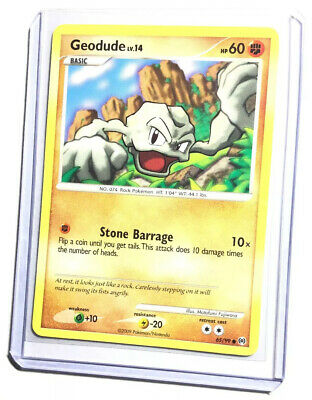 GEODUDE - 65/99 - Arceus - Common - Pokemon Card - NM