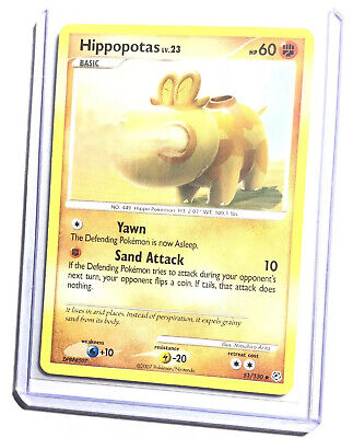 HIPPOPOTAS - 51/130 - Diamond & Pearl - Uncommon - Pokemon Card - NM