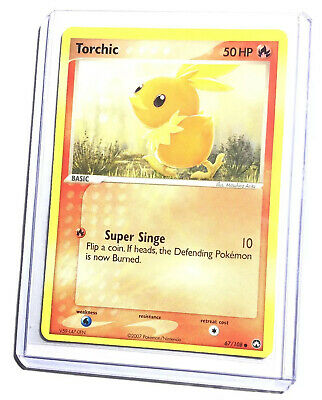 TORCHIC - 67/108 - EX Power Keepers - Common - Pokemon Card - NM