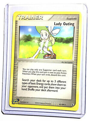LADY OUTING - 83/109 - EX Ruby & Sapphire - Uncommon - Pokemon Card - NM