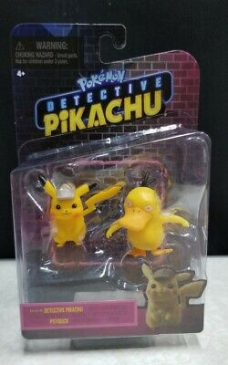 Pokemon Detective Pikachu * Detective Pikachu & Psyduck * New In Package