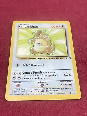 Pokemon Kangaskhan Holo Rare Jungle LP 5/64