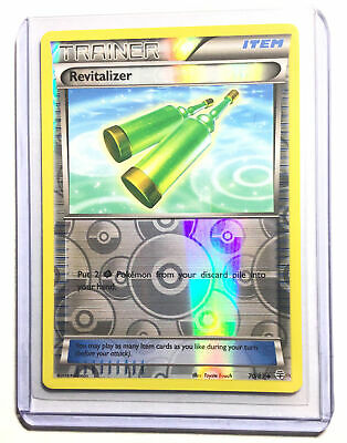 REVITALIZER - 70/83 - XY GENERATIONS - Reverse Holo - Pokemon Card - NM