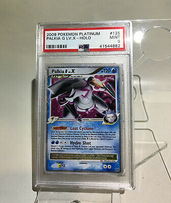 PSA 9 MINT Palkia G LV. X Platinum Pokemon Card 125/127                      M39