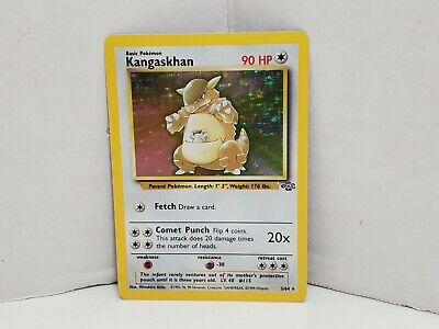 Pokemon Jungle Kangaskhan 5/64 Holo LP MP