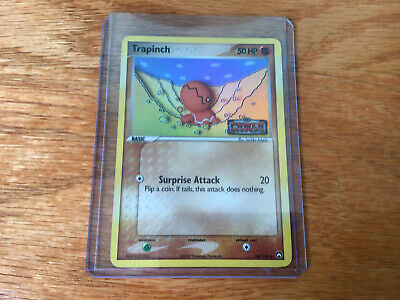 Pokemon Card Trapinch (EX Power Keepers) 68/108 PL Stamped Reverse Holo Common