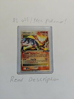 Pokemon Infernape Lv X Diamond And Pearl Promos Holo DP10 LP/NM