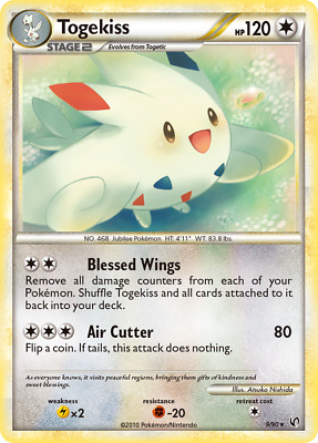 Togekiss - 9 - Near Mint Holofoil - HS—Undaunted - Pokemon