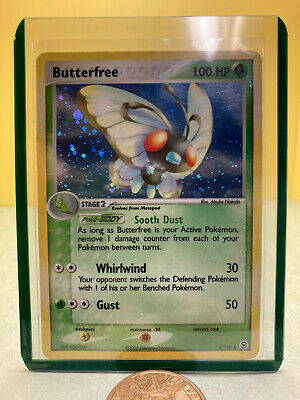 Pokemon Butterfree 2/112 - EX FireRed LeafGreen Holo Rare Used