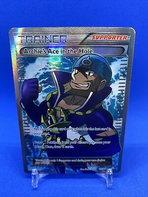 Pokemon Archie's Ace in the Hole 157/160 Primal Clash NM