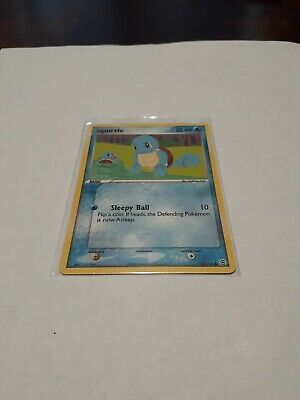 Squirtle - 82/112 - Common - EX FireRed & LeafGreen - MINT - Pokemon - Non Holo